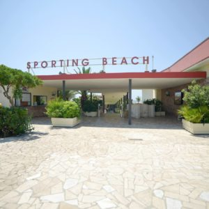 Stabilimento balneare spiaggia Sporting Beach - Lido di Ostia