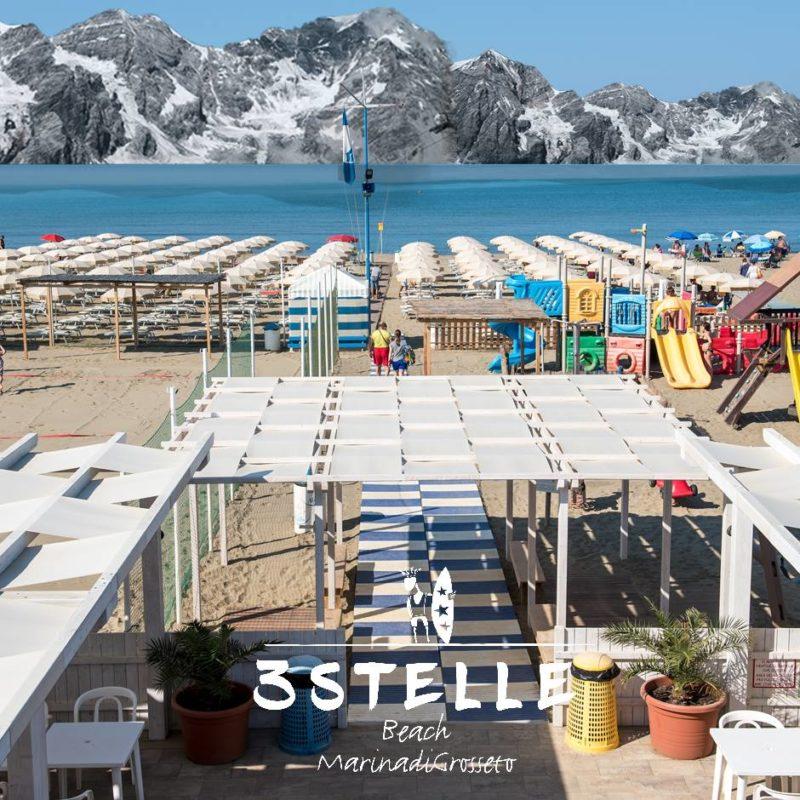 Stabilimento balneare Bagno Tre Stelle - Marina di Grosseto