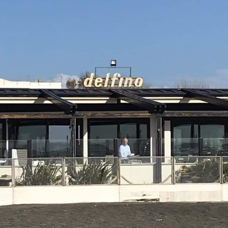 Stabilimento balneare spiaggia Il Delfino - Fregene