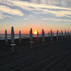 Stabilimento balneare spiaggia Tirreno Village - Fregene